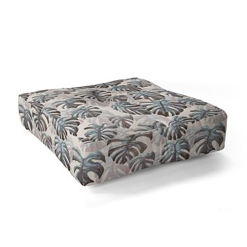 Dash and Ash Palm Springs Blues Floor Pillow Square