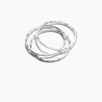Thin Ring Set - Silver - Rings - & Other Stories GB