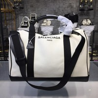 DCCK Balenciaga Fashion Women Men Gb49619 Canvas Travelling Bag