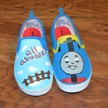 Thomas the Train Shoes! Customize yours now!