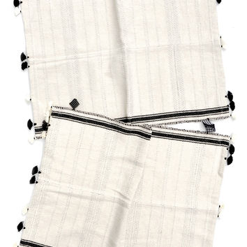 Rebari Tassel Trim Placemat Set