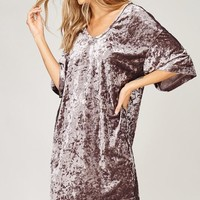 Conquer It All Velvet Tunic