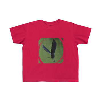 As the Crow Flies- Toddler Fine Jersey Tee