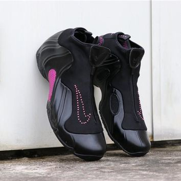 "Nike Air Flightposite Solo Slide ""Black Pink"" - Best Deal Online"