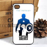 Captain America The Patriot - iPhone 4/4s/5/5s/5c - iPod 4/5 - Samsung Galaxy s3 i9300/s4 i9500 - Case