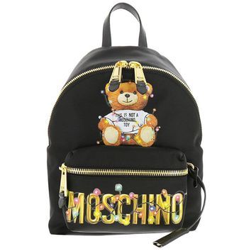 Christmas Couture Backpack by Moschino