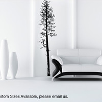 Vinyl Wall Decal Sticker Pine Tree #849
