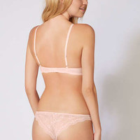 Chloe Lace Thong - Blush | Boux Avenue