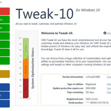 Tweak-10 1.0.1005 Crack with Full License Key Download