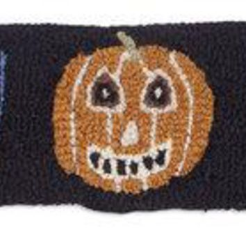 Halloween Boo Faces Lumbar Hooked Pillow 8ʺL X 24ʺW