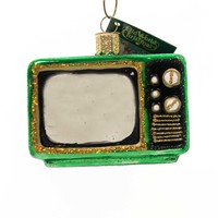 Old World Christmas RETRO TUBE TV Glass Ornament Mid Century Mcm 32253