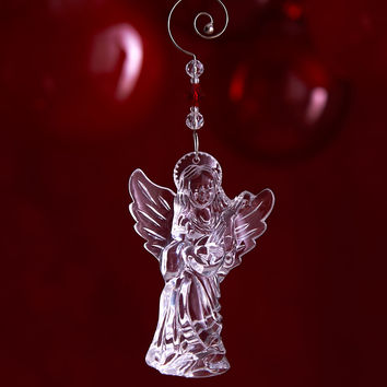 Annual Angel Christmas Ornament - Waterford Crystal
