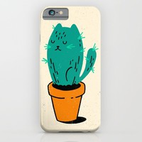 Cat-tus iPhone & iPod Case by Derek Eads