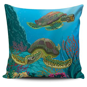 Sea Turtle Pillow Covers