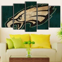 Philadelphia Eagles Football Canvas