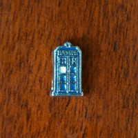 Dr. Who's Tardis Floating Charm for Glass Living Lockets