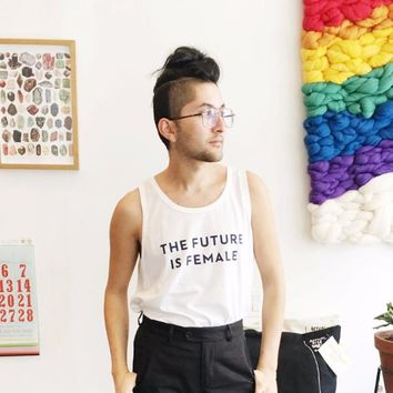 The Future Is Female Tank Top