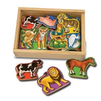 Melissa and Doug Melissa and Doug Magnetic Animals in a Box