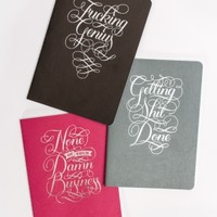 Three Piece Notebook Set by Chronicle Books - ShopKitson.com