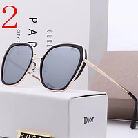 Dior Fashion Women Summer Sun Shades Eyeglasses Glasses Sunglasses
