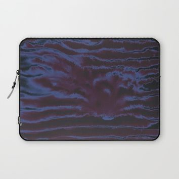 faux tie-dye Laptop Sleeve by duckyb