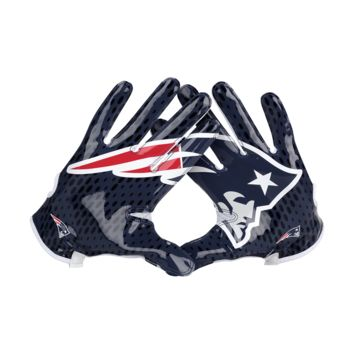 Nike Vapor Knit (NFL Patriots) Men's Football Gloves