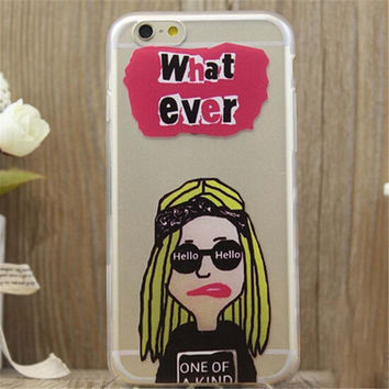 What ever Print iPhone 5/5S/6/6S/6 Plus/6S Plus creative case Gift Very Light creative case-17