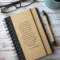 e.e. cummings Quote Journal