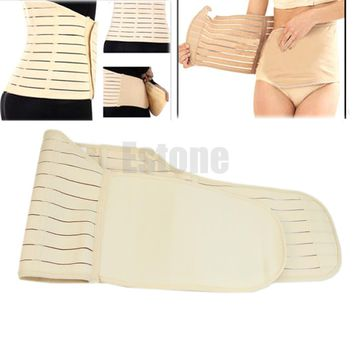 HOT Women Postpartum Belly Recovery Belt Maternity Tummy Wrap Corset Post Pregnancy Girdle Slimming Waist Belly Band Shapewear