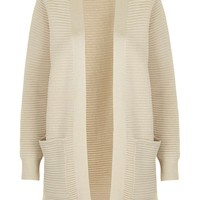 Long Ribbed Cardigan - Topshop
