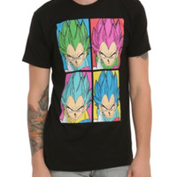 Dragon Ball Z Vegeta Pop Art T-Shirt