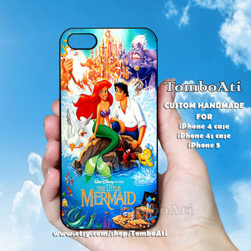 The Little Mermaid Movie - Print on Hard Cover For iPhone 4/4S and iPhone 5 Case