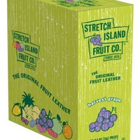 Stretch Island Original Fruit Leather, Grape, 0.5-Ounce Bars (Pack of 30)