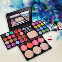 EyeShadow 39 Colors Makeup Palette Kit Foundation Blusher Cosmetic Lipstick Tools SV000822 (Color: Multicolor) = 1651459332