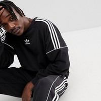 adidas Originals Nova Retro Sweatshirt In Black CE4832 at asos.com