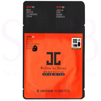 JAYJUN Real Water Brightening 3-Steps Black Mask