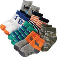 Old Navy Non Skid, Crew Sock 6 Packs For Baby