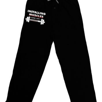 Installing Muscles Adult Lounge Pants