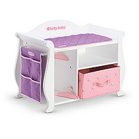 American Girl® Furniture: Wooden Changing Table & Storage