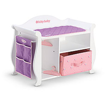 American Girl Furniture Wooden Changing From American Girl