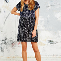 Urban Renewal Vintage Remnants Babydoll Dress in Hearts Print - Urban Outfitters