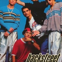 The Backstreet Boys Poster Vintage Early Shot Of Entire Band