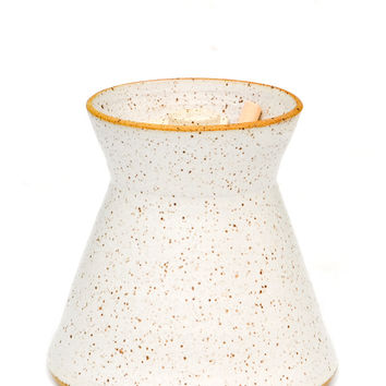 Speckled Ceramic Honey Pot