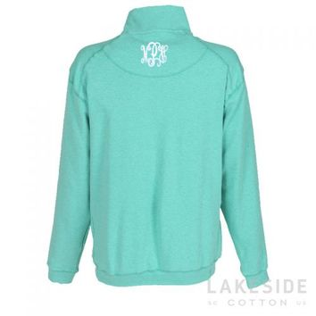 Monogrammed DownpourDRY Fleece Pullover | Lakeside Cotton