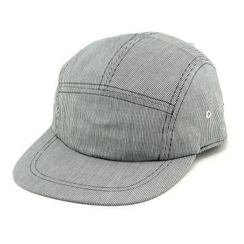 5 Panel Striped Cap