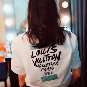 Louis Vuitton Fashion Paris Series T-shirt