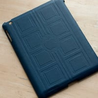 TARDIS Leather iPad back cover -- River Song's Journal