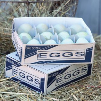 Hand Soap Eggs in Crate