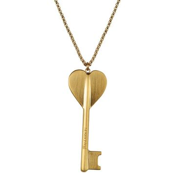 JW Anderson Heart Key Pendant Necklace