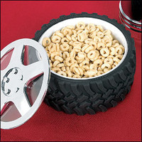Rev up your meals with Tire Bowl